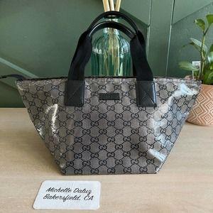 Gucci Supreme Crystal GG Mini Tote Bag